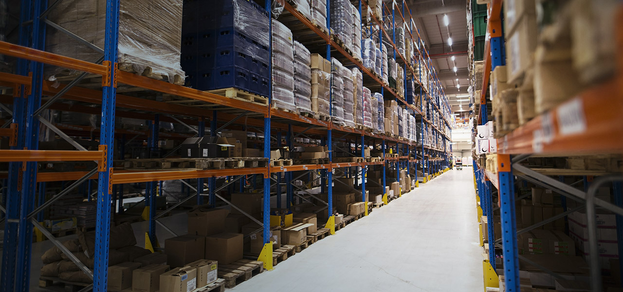 State-of-the-art warehouses