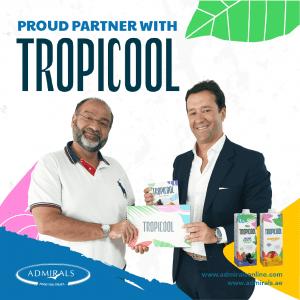 Admirals partner Tropicool - Bringing the taste of Brazil to UAE